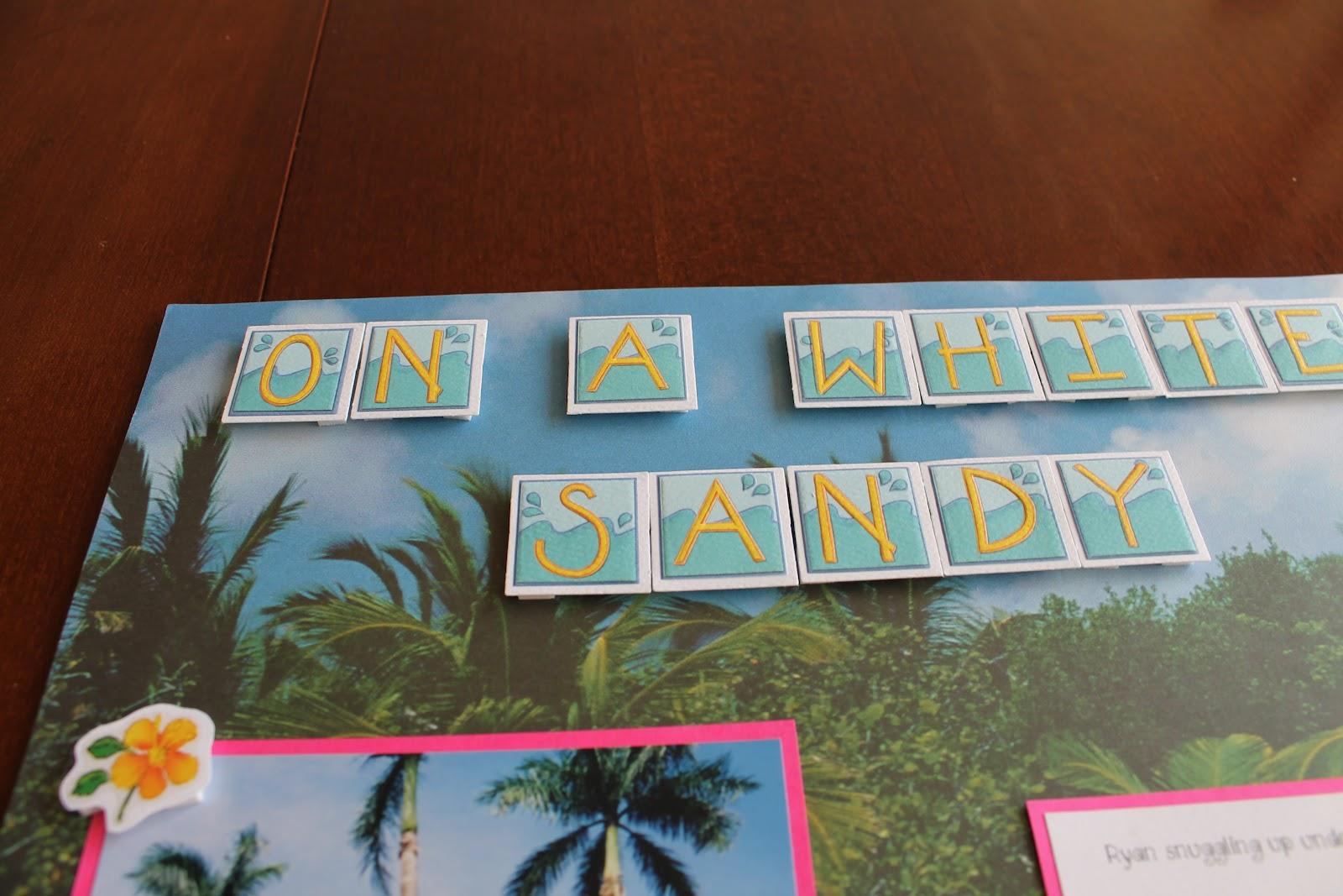 Scrapbook ideas hawaii - Xoxo
