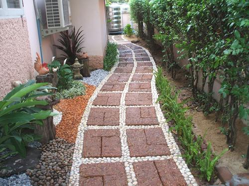Footpath And Walkway Garden Landscape Design - design your garden