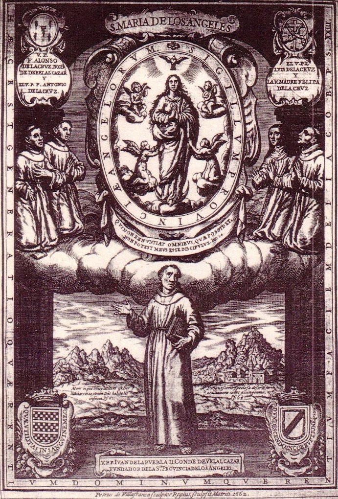 HISTORIA de la SANTA PROVINCIA de los ÁNGELES EN LÍNEA: