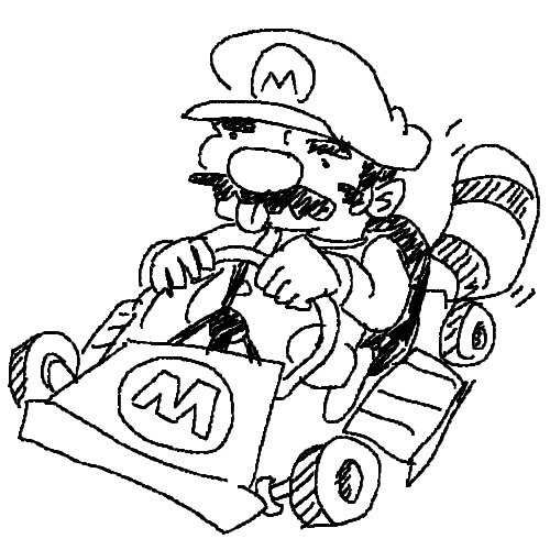 Free Mario Kart 8 Coloring Pages Mario Kart 8 Coloring Pages