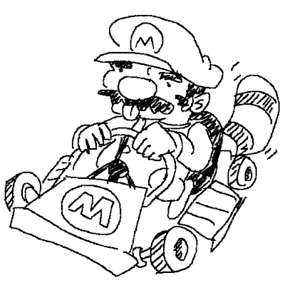 Burn The Internet Super Raccoon Kart Mario Coloring Pages