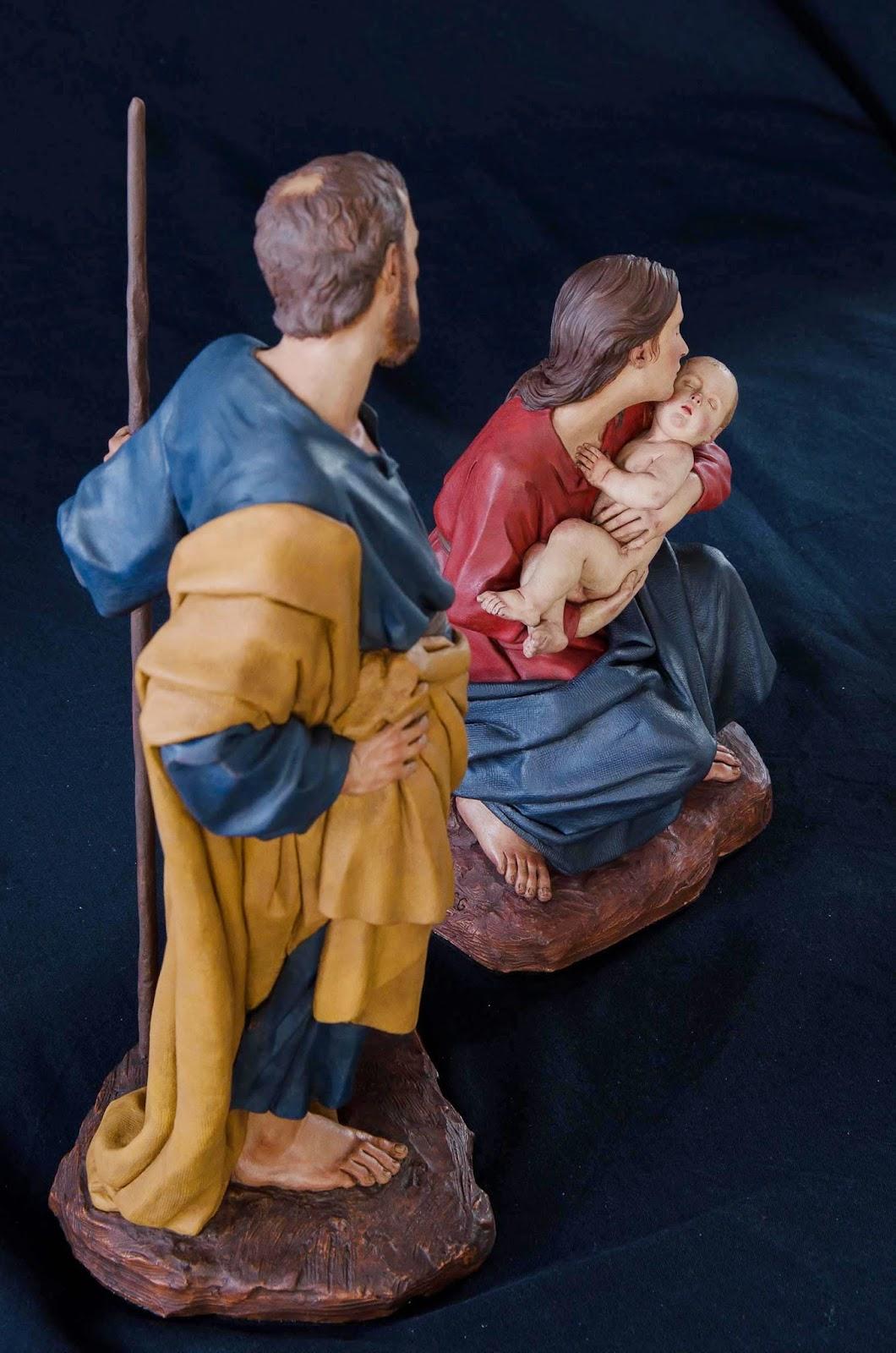 Nacimiento Belén Nativity presepe krippe Arturo Serra Barro cocido 38