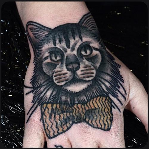 20 Most Beautiful palm Cat Tattoos Design & Ideas