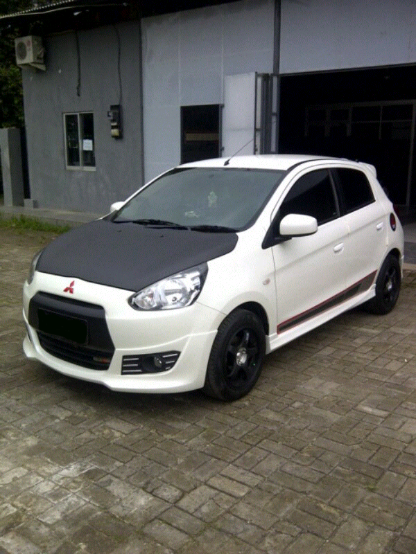 galeri foto modifikasi mobil mitsubishi mirage terbaru modif motor mobil. Black Bedroom Furniture Sets. Home Design Ideas