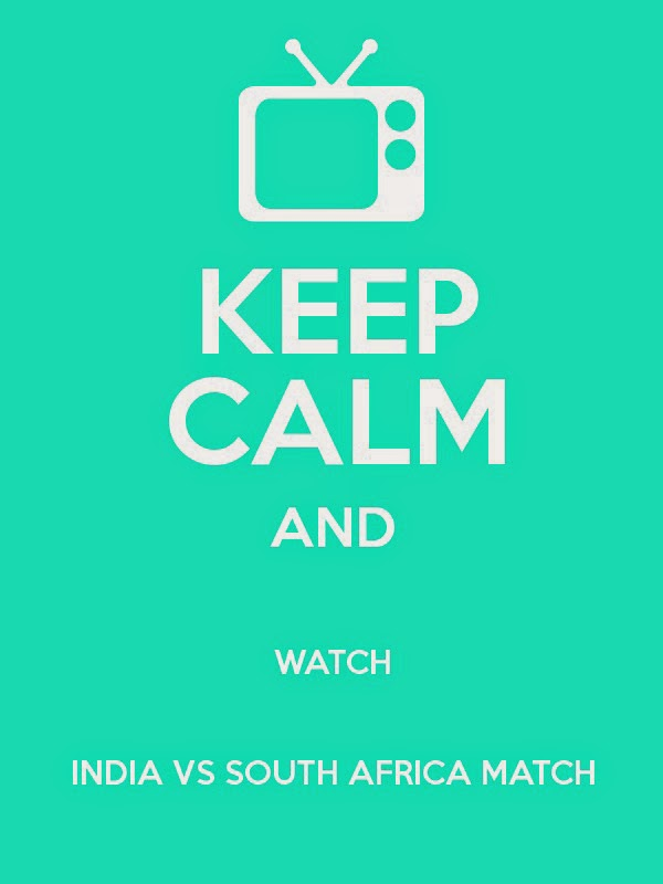 Keep Calm India vs South Africa