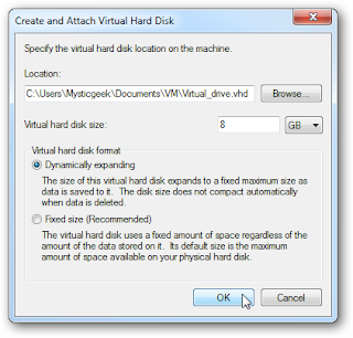 Tutorial on How to Create a Virtual Hard Drive in Windows 7? pic3