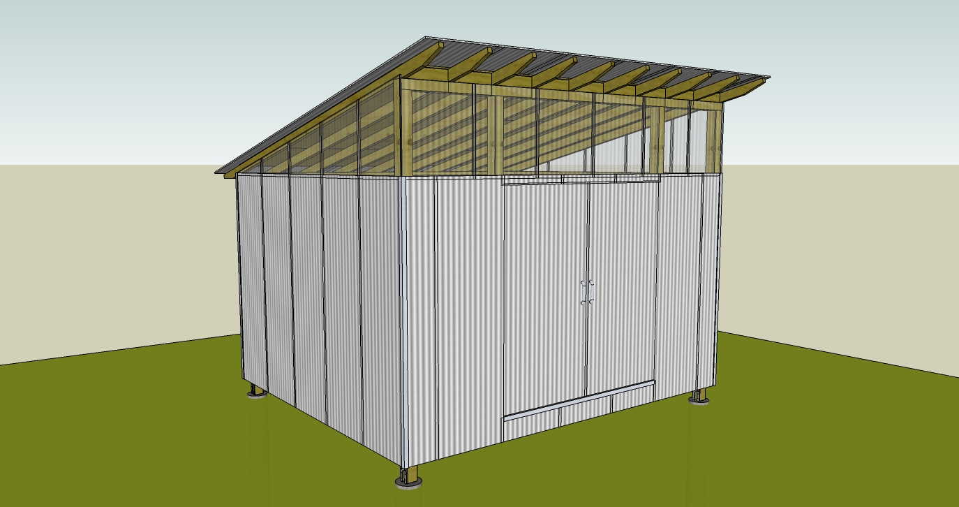 Free 10 x12 shed plans zip learn how sheds plan for building for Garden shed plans