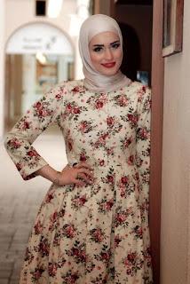 hijab-maxi-dress-vintage-style