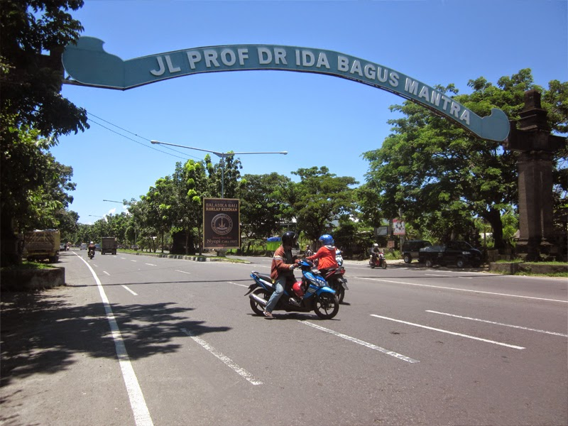 Wisata Pantai di Sekitar Jalan Ida Bagus Mantra Bali