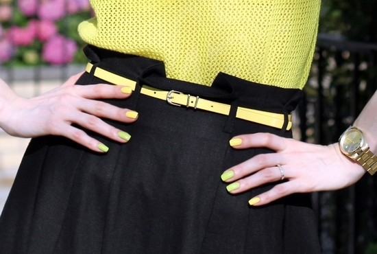 Asos Linen Midi Skirt With Belt Asos Metal Keeper Super Skinny Waist Belt Kenneth Cole New York Women's Yellow Gold Watch Sally Hansen Xtreme Wear Mellow Yellow Sinful Colors Professional Innocent Nail Polish