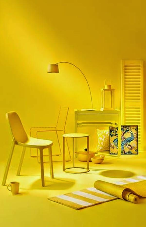 Esclusivo in plexiglass for Oggetti di colore giallo