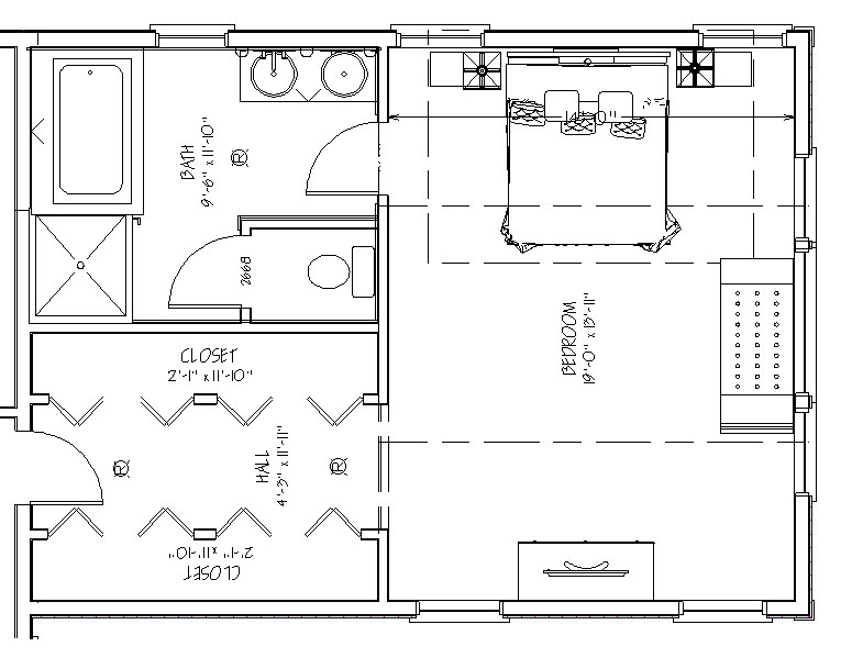 Master Suite Layout Plans