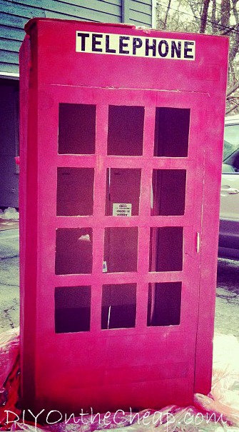 Super Hero Phone Booth