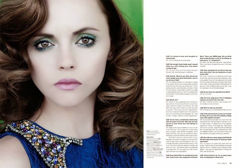Christina Ricci For As If Magazine