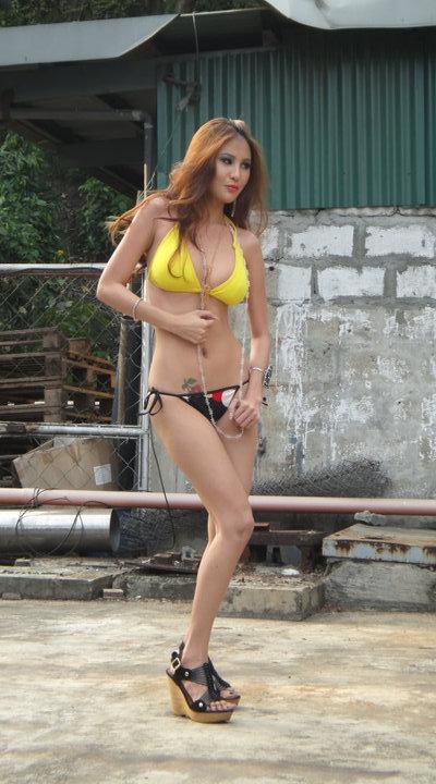 aiko baniqued sexy beach bikini pictorials 01