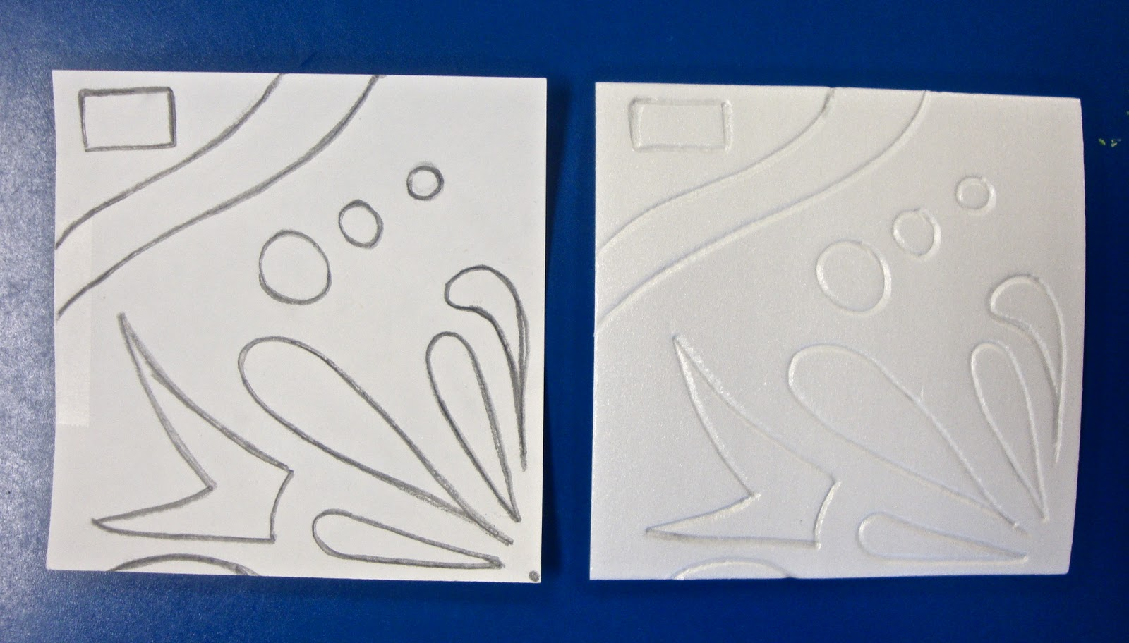 art tile designs. Art. Paper. Scissors. Glue! Art Tile Designs