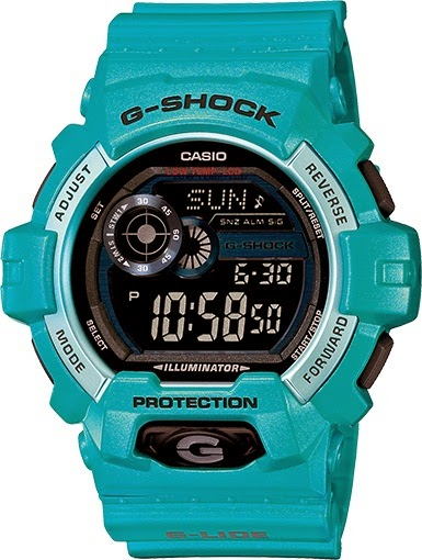 Casio G-Shock GLS8900-2 G-LIDE Blue Big Case