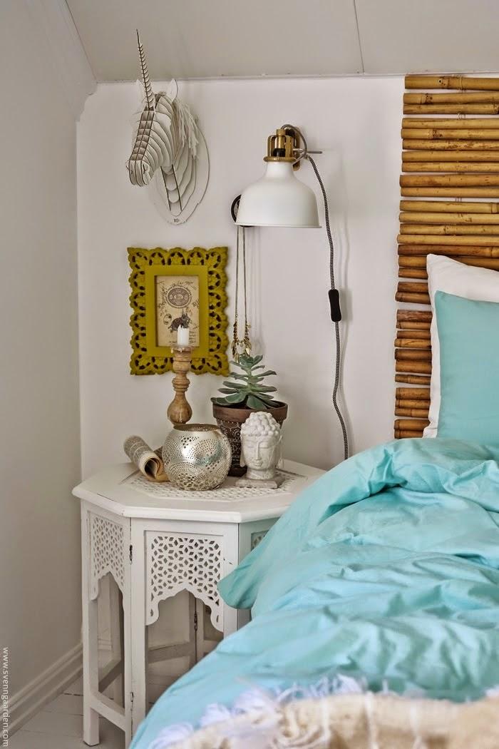 un dormitorio veraniego