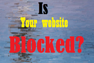Find out if your website is blocked or not front