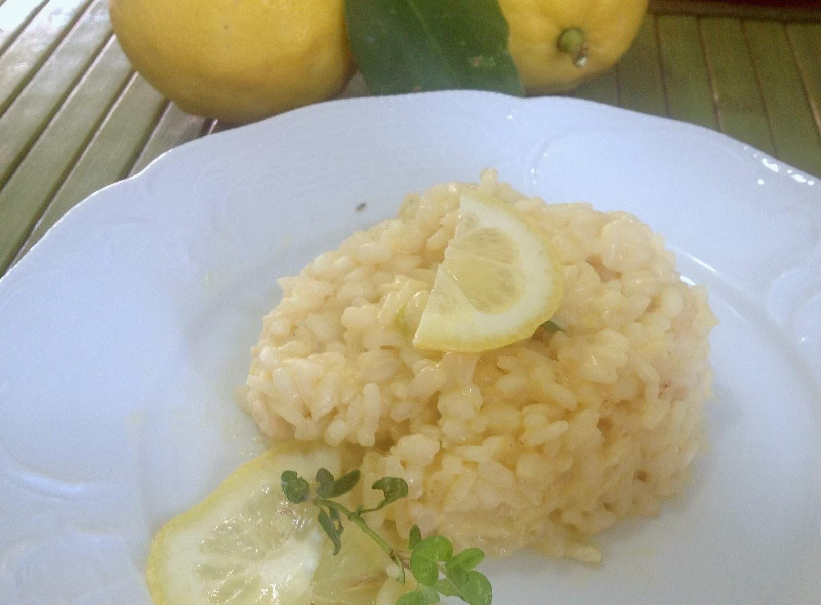 #risotto; #limone