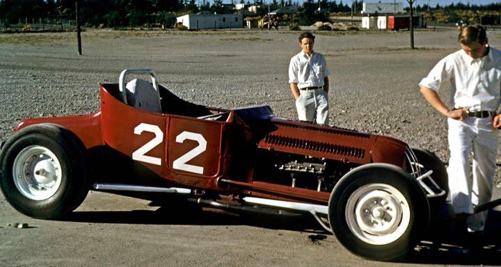 Northwest Auto Racing 1950s Aurora Speedway Seattle 1950
