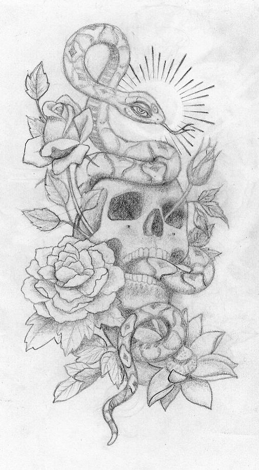 tattoo gallery skulls