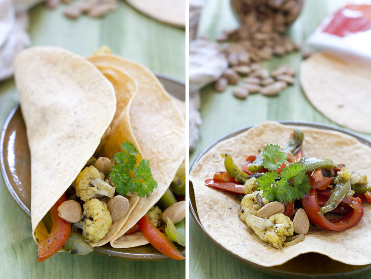 veggie+fajitas+2 Veggie Fajitas. Receta