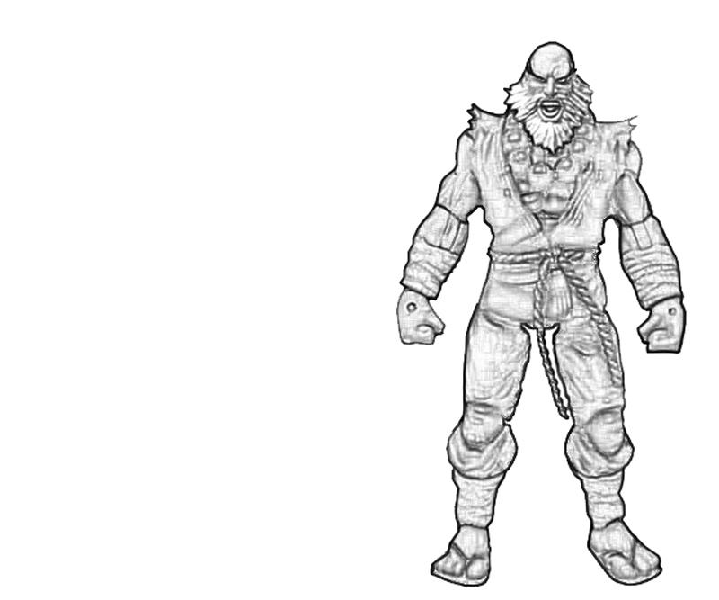 gouken-battle-cry-coloring-pages