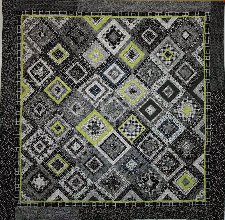 Judi Castro's Black and White Quilt