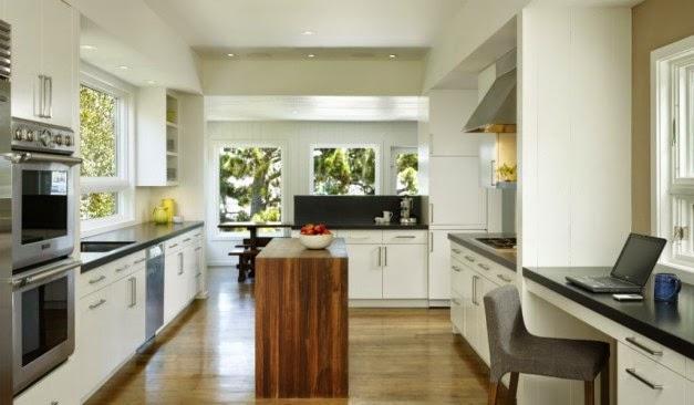 Desain Interior Dapur Modern Putih