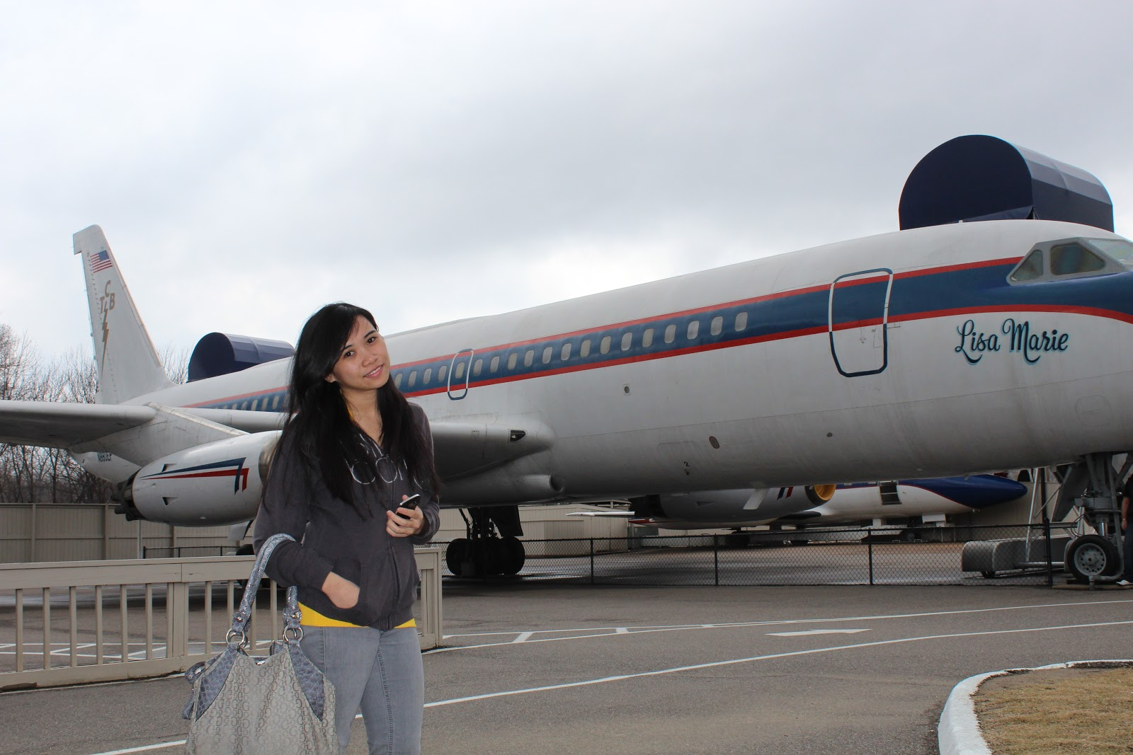 Elvis owned two private aircraft. The bigger one was named Lisa Marie ...