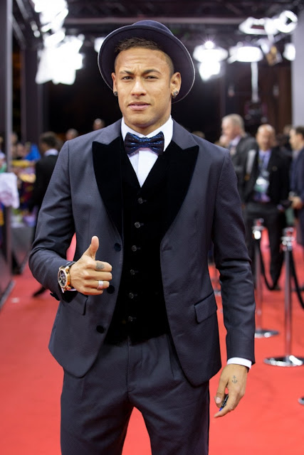 Neymar Jr en la gala Fifa Ballon d'Or awards