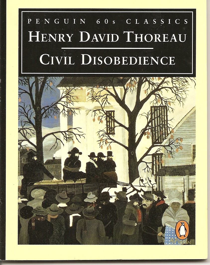 henry david thoreau civil disobedience essay summary