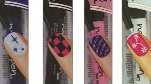 modelos canetas decoração unhas