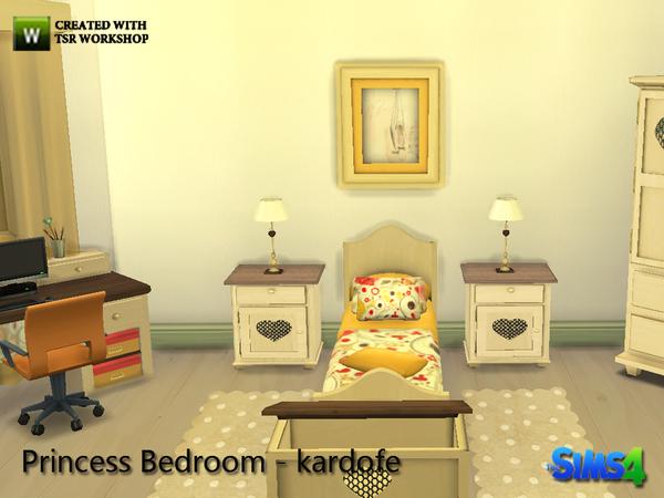 my sims 4 blog princess bedroom set by kardofe