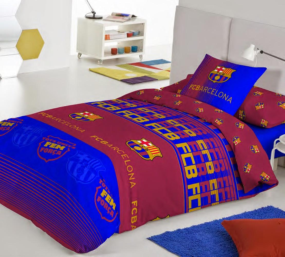 Euromoda ropa de cama futbol club barcelona nueva coleccion licencias tienda on line de - Funda nordica barcelona ...