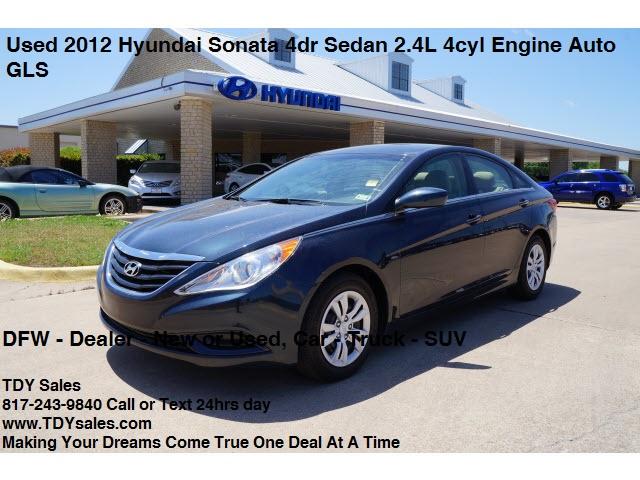 Sale - Used 2012 Hyundai Sonata 4dr Sedan 2.4L 4cyl Engine Auto GLS