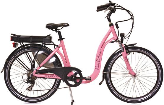 bicicleta eléctrica Yamimoto y Pretty Ballerinas