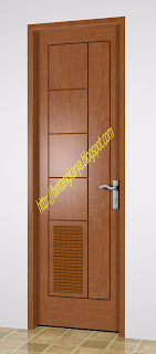 pd sumber karya harga pintu kamar mandi daun pintu pintu utama rumah ...