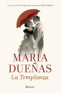 La Templanza de María Dueñas portada Ed. Planeta