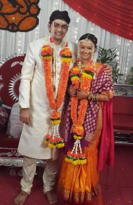 Spruha Joshi Gets Married Karamnookcom Marathi Movies Actress
