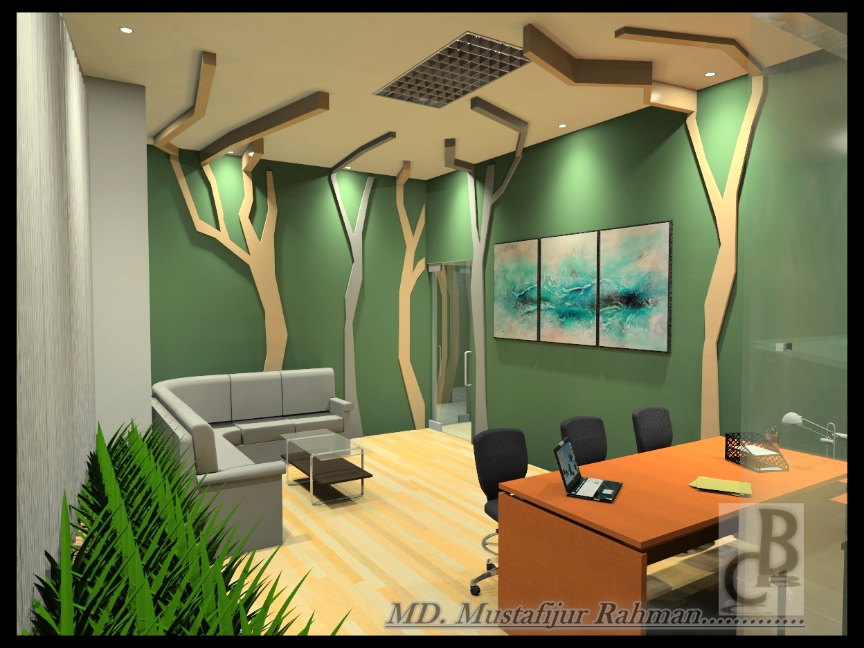 Black cat company ltd for Director office room design