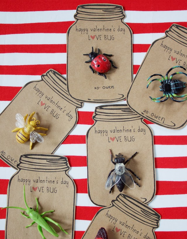 Love Bug Valentines from Dandee Designs