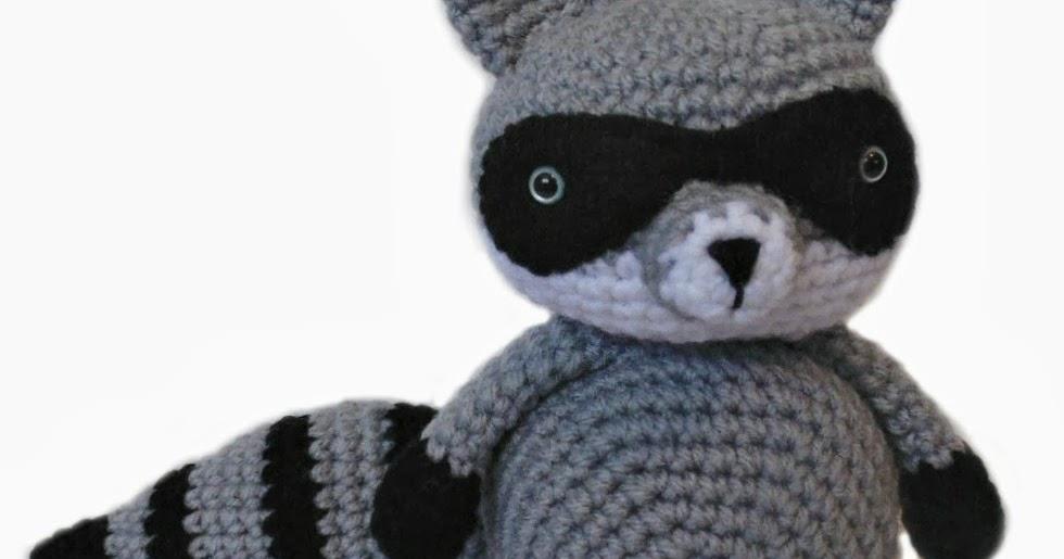 Amigurumi Joined Rounds : Bandit The Amigurumi Raccoon ~ Amigurumi To Go