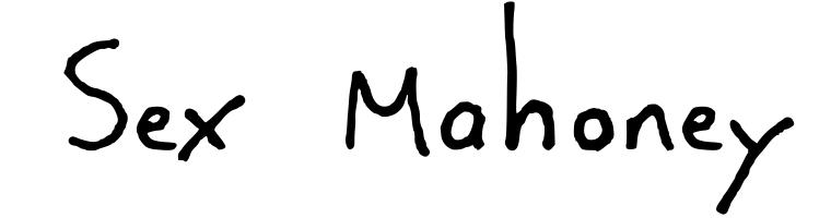 Sex Mahoney