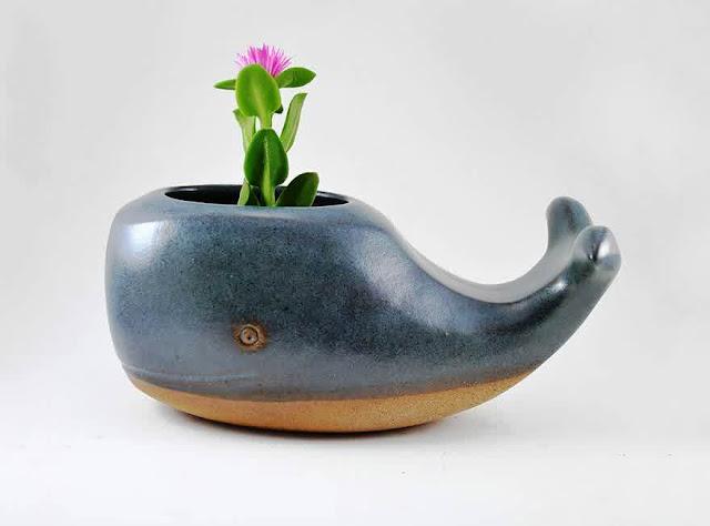 Cute ceramic planter