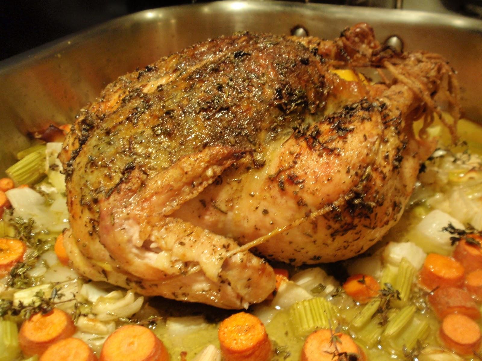 Garlic Roasted Chicken Recipe — Dishmaps