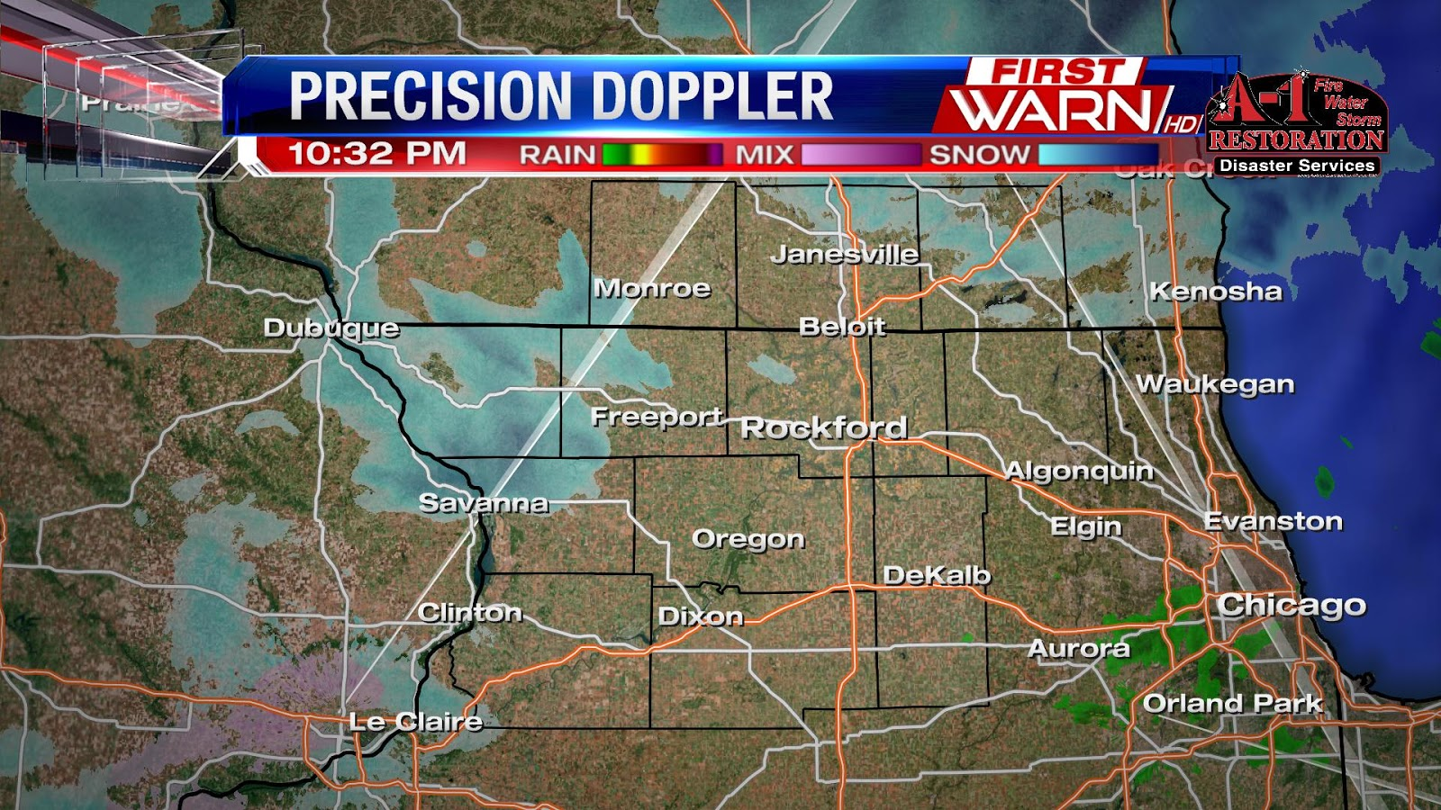 the moderate to heavy steady precipitation has now lifted well to our north into central wisconsin we are now seeing a few light scattered snow showers