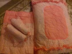 Set B - Tilam Kekabu bayi + blanket (RM160)