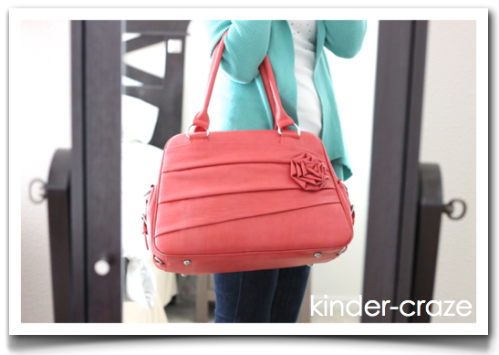Rose Coral Camera bag from Jo Totes